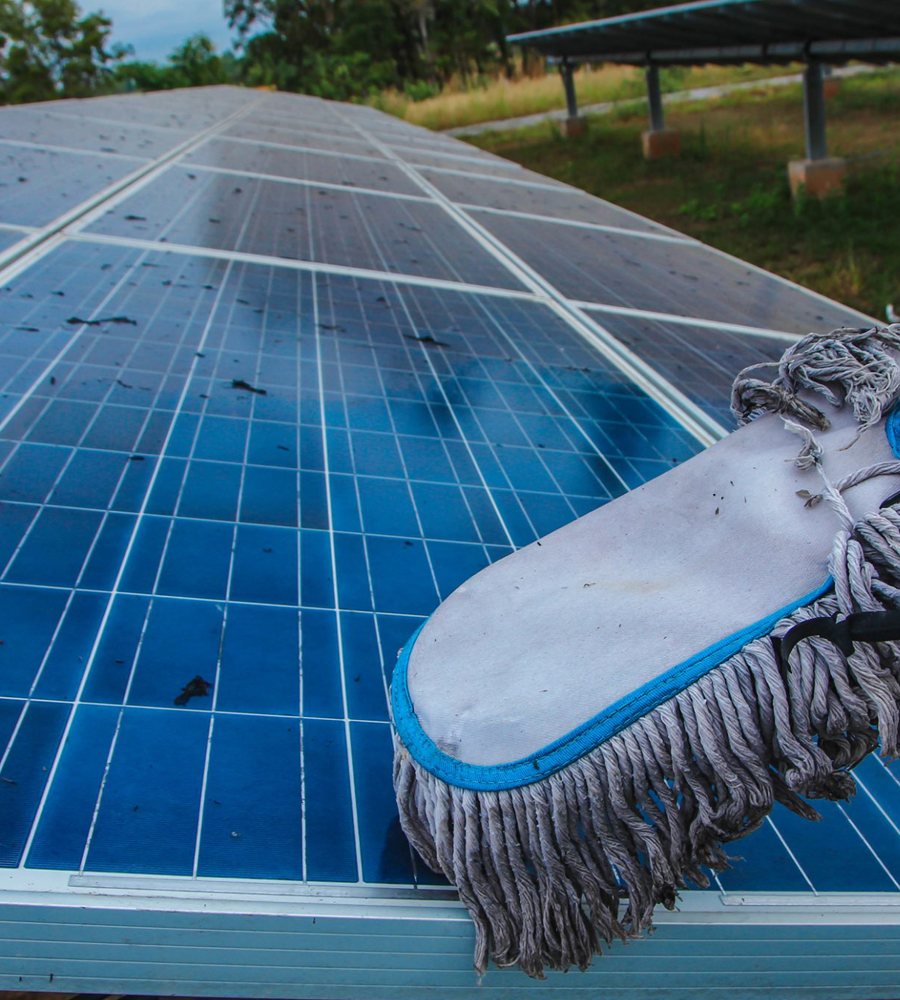 Solar Power Operation & Maintenance